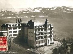 Mont Pelerin Grand Hotel et les Alpes