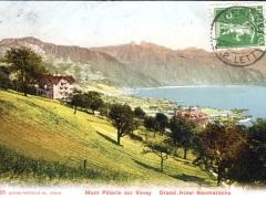 Mont Pelerin sur Vevey Grand Hotel Baumaroche