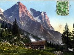 Reichenbachalp und Wetterhorn