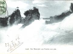 Rheinfall von Fischez aus ges