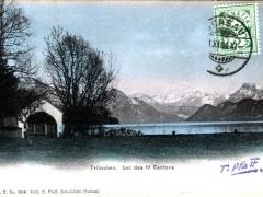 Tribschen Lac des IV Cantons