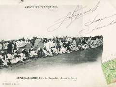 Senegal Soudan Le Ramadan A vant la Priere
