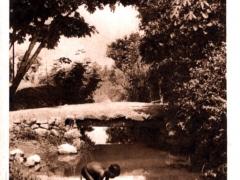 Canal d'irrigation en Haute Volta