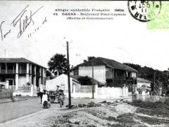 Dakar Boulevard Pinet Laprade Marine et Commissariat
