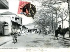Dakar Boulevard Pinet Laprade