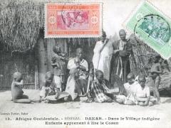 Dakar Dans le Village indigene