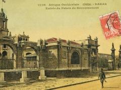 Dakar Entree du Palais du Gouvernment