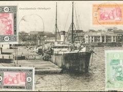 Dakar Hafenansicht