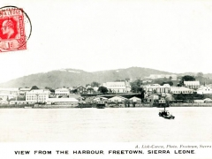 Freetown View from the Harbour
