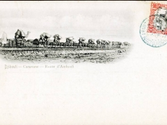 Djibouti Caravane Route d'Ambouli