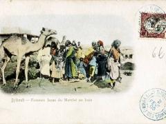Djibouti Femmes Issas du Marche au bois