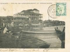 Djibouti Palais du Gouvernement et Debarcadere