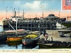 Lagos Iddo station wharf