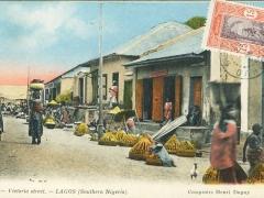 Lagos Victoria street