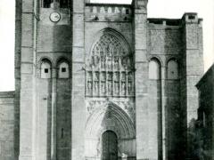 Avila Catedral Fachada