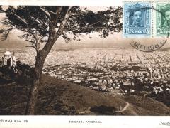 Bacelona Tibidabo Panorama
