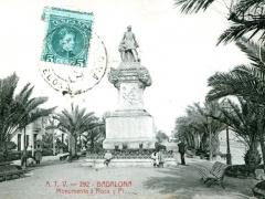 Badalona Monumento a Roca y Pl