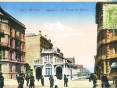 Barcelona Apeadero del Paseo de Gracia