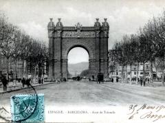 Barcelona Arco de Triumfo