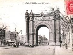 Barcelona Arco del Triunfo