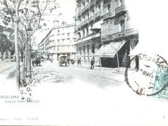 Barcelona Calle Fontanella