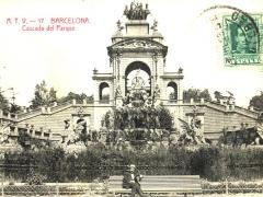 Barcelona Cascada del Parque