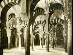 Cordoba Interior de la Mezquita