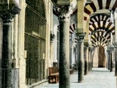 Cordoba La Mezquita Columna del Cautivo