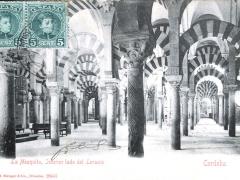 Cordoba La Mezquita Interior lado del Levante