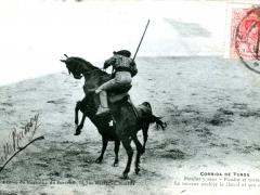 Corrida de Toros Picador y toro