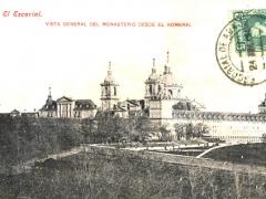El Escoral Vista general del Monasterio desde el Romeral