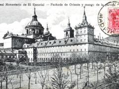 El Escorial Fachada de Oriente y mango de la parrilla
