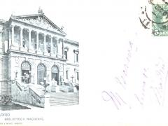 Madrid Biblioteca Nacional