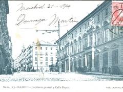Madrid Capitania general y Calle Mayor