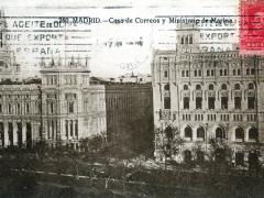 Madrid Casa de Correos y Ministerio de Marina