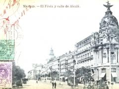 Madrid El Fenix y calle de Alcala