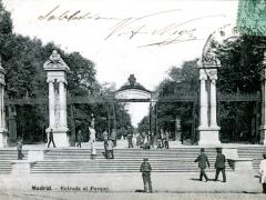 Madrid Entrada al Parque
