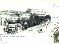 Madrid Estacion de Norte y Palacio Real