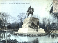 Madrid Estatua del General Martinez Campos