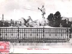 Madrid Fuente de Neptuno