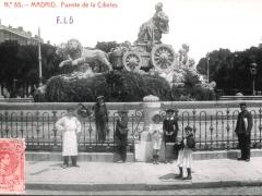 Madrid Fuente de la Cibeles