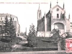 Madrid Iglesia de los Jeronimos y Real Academia Espanola