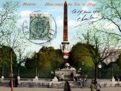 Madrid Monumento del Dos de Mayo