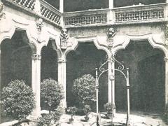 Salamanca Patio de la Casa de las Conchas