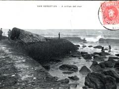 San Sebastian A orillas del mar