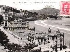 San Sebastian Balneario de la Perla y Miraconcha