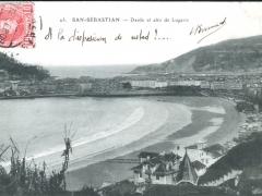 San Sebastian Desde el alto de Lugariz
