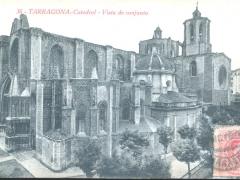 Tarragona Catedral Vista de conjunto