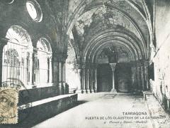 Tarragona Puerta de los Claustros de la Catedral