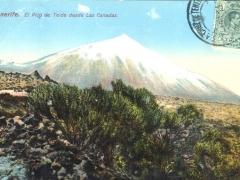 Tenerife El Pico de Teide desde Las Canadas